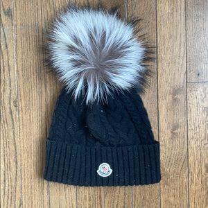 Moncler black hat